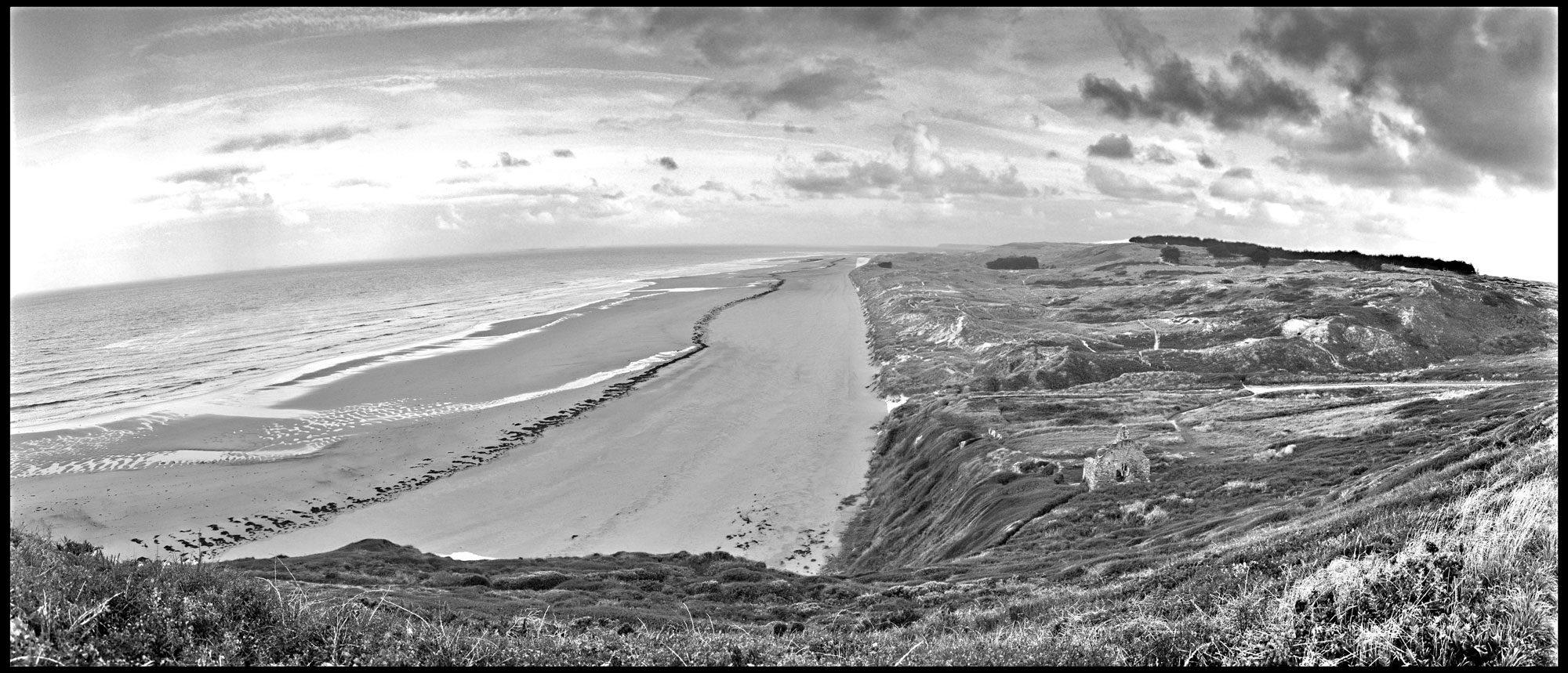 Küste Barneville/Carteret Normandie/Frankreich