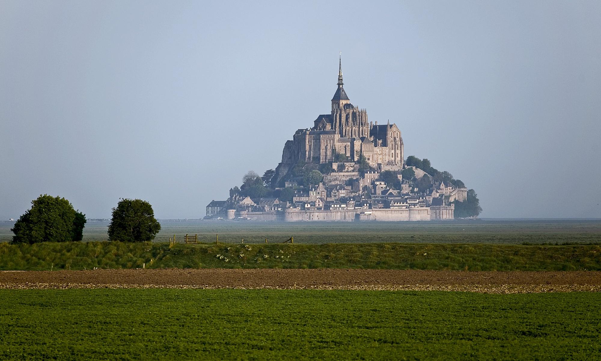 Mont St. Michel am Morgen